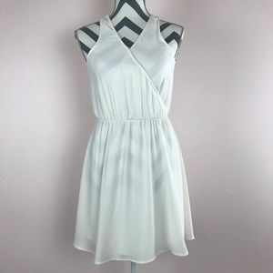 LUSH Cute White Skater Dress - Kylie